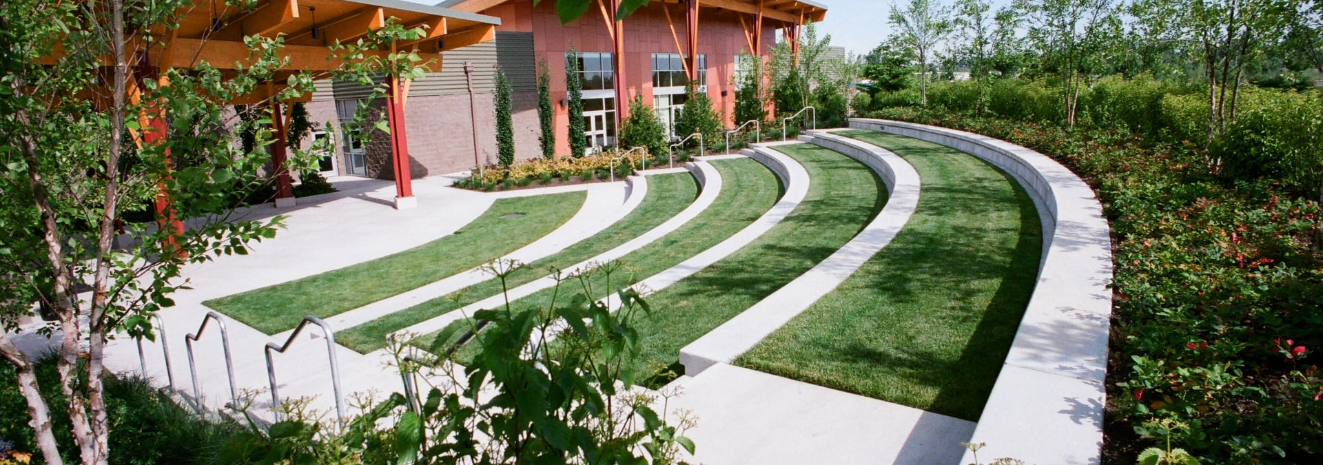 Slide Six – Kroc Center Ampitheater