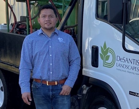 Alberto Dominguez Oversees Plant Health From The Soil Up