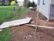 Before - Difficult backyard slope